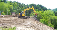 Excavation - Regrading Embankment